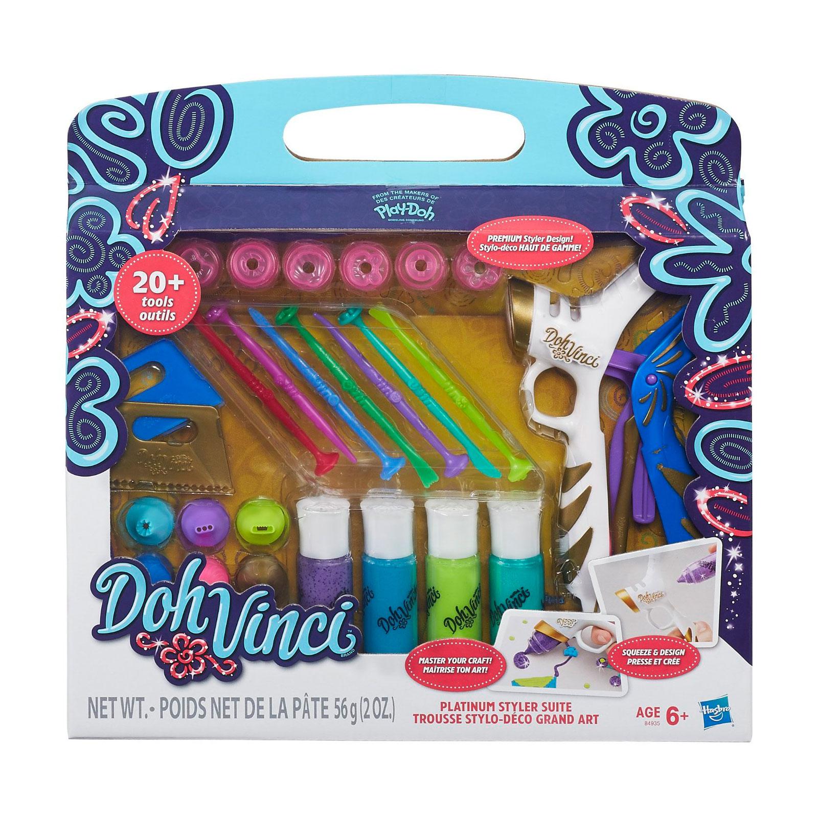 Игровой набор Play-Doh Платиновый стайлер<br>