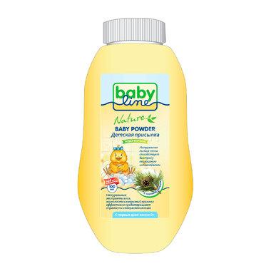 Присыпка Babyline Nature с сосновой пыльцой 100 гр + 25 % в подарок