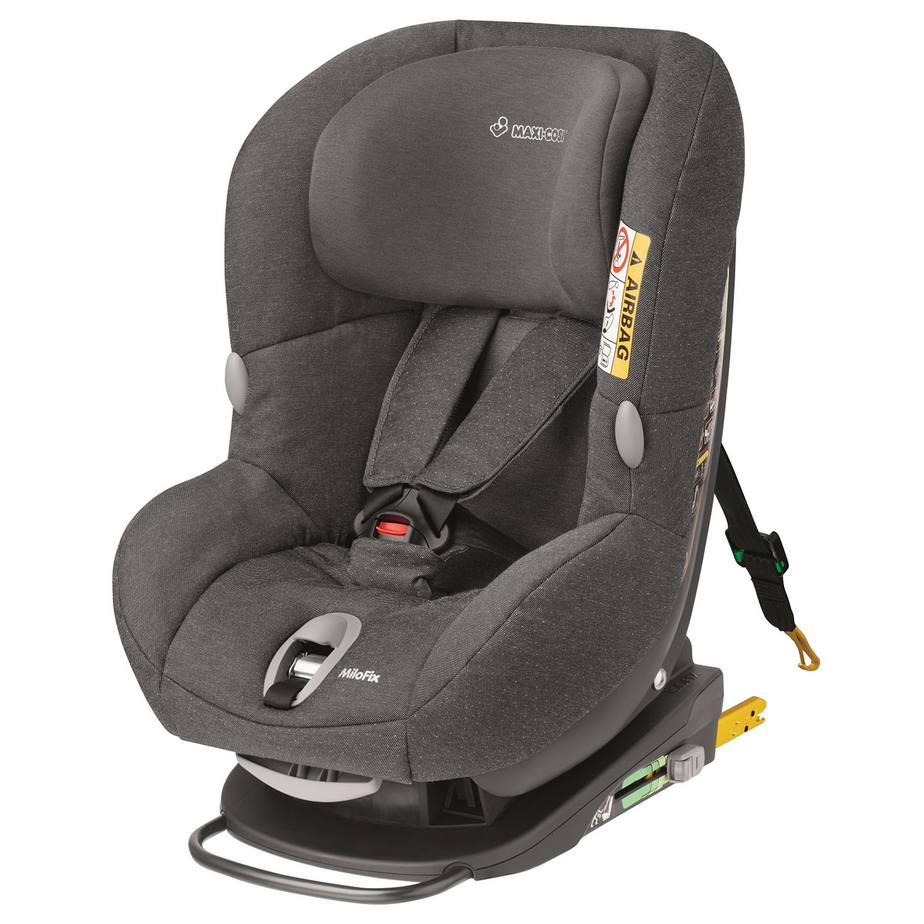 Автокресло Maxi-Cosi Milo Fix Sparkl Grey<br>