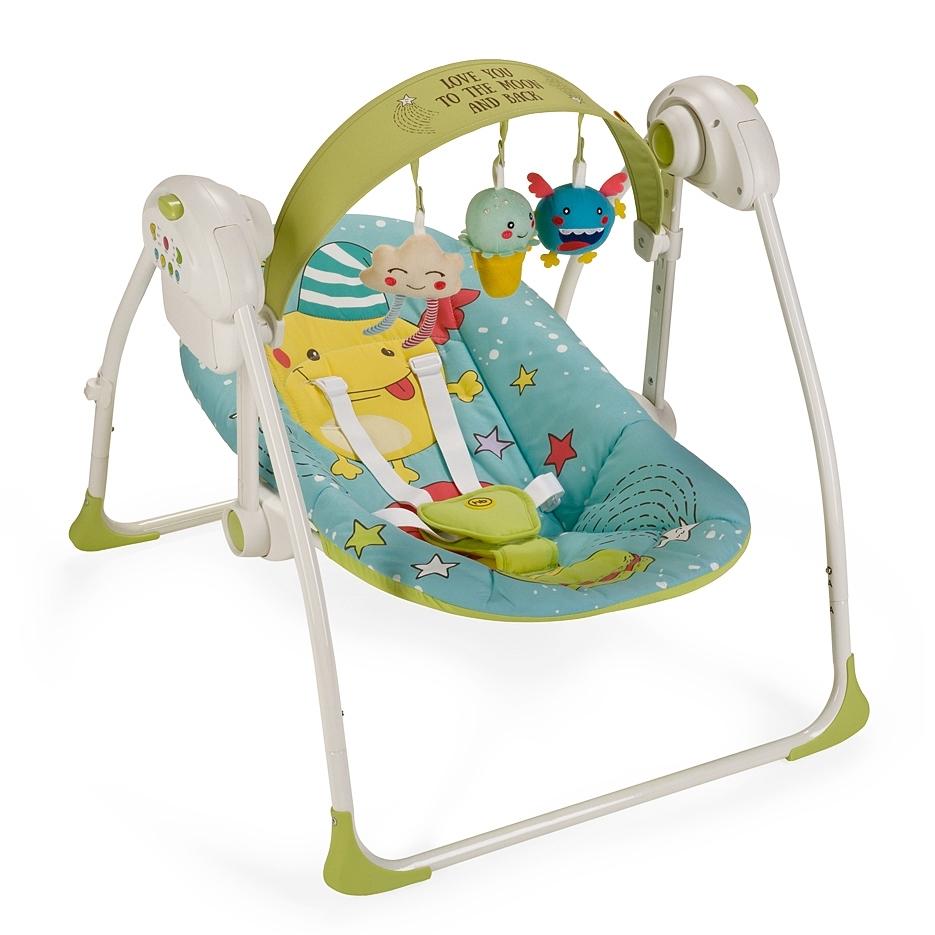 Электрокачели Happy Baby Jolly Blue<br>