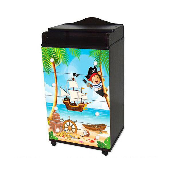 Комод Антел Пираты Ульяна-1 600/4 Венге/белый<br>