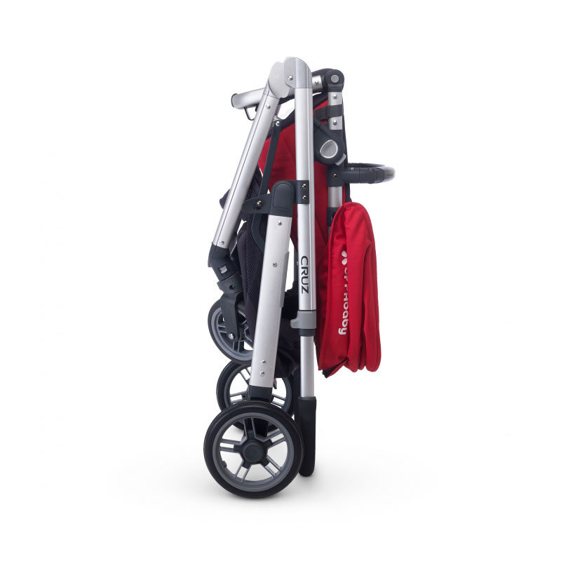 ������� Uppababy Cruz Red Silver