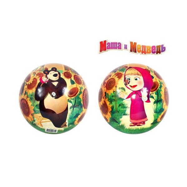 Мяч Маша и медведь 23 см<br>