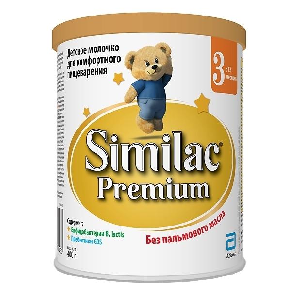 Заменитель Similac Премиум 400 гр №3 (с 12 мес )<br>