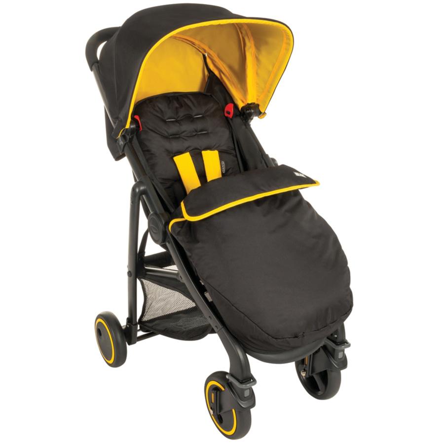 Коляска прогулочная Graco Blox Black Yellow<br>