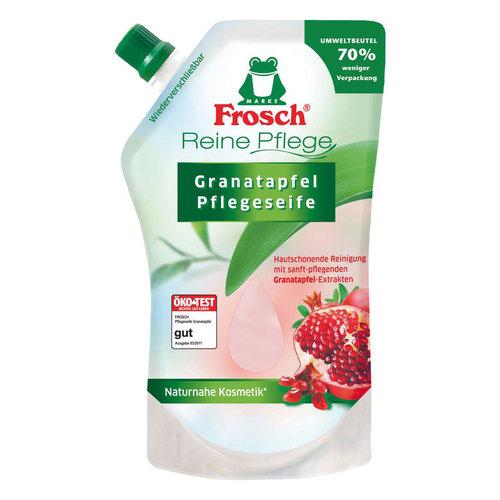 Ухаживающее мыло Frosch для рук Гранат (запасная упаковка) 500 мл<br>