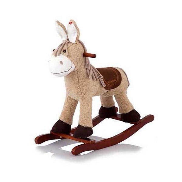 Качалка Jolly Ride Ослик Светло коричневая<br>