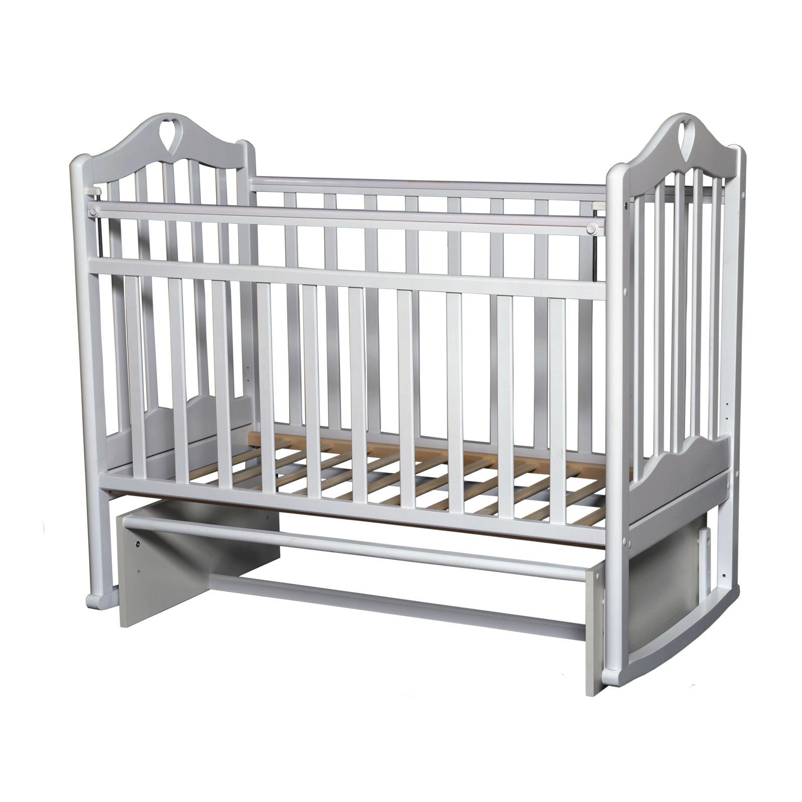 Кроватка Антел Каролина-3 Белая<br>