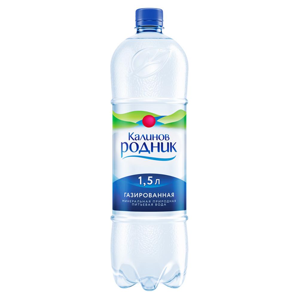 Вода Калинов Родник минеральная природная газ 1,5 л