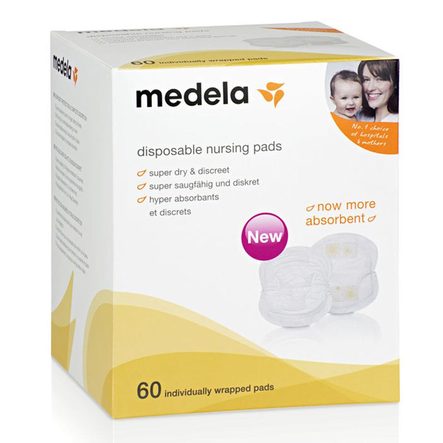 Прокладки для бюстгалтера Medela одноразовые 60 шт<br>