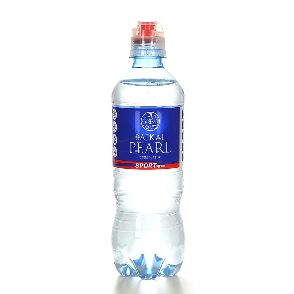 Вода питьевая Жемчужина Байкала Baikal Pearl спорт 0,5 л