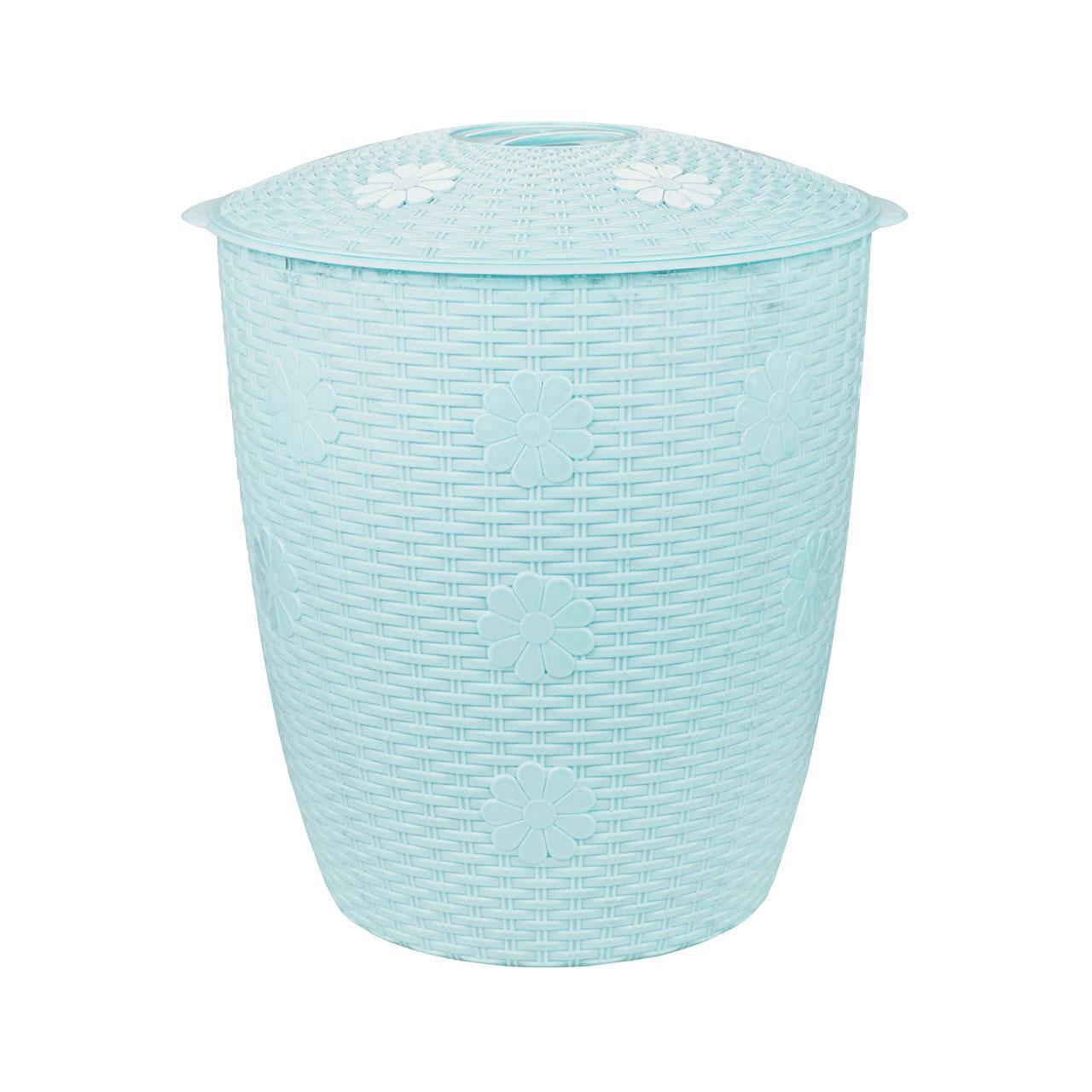 Корзина для белья Плетёнка 45 л  2248М (Пластик)