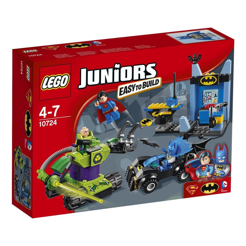 Конструктор LEGO Junior 10724 Бэтмен и Супермен против Лекса Лютора<br>