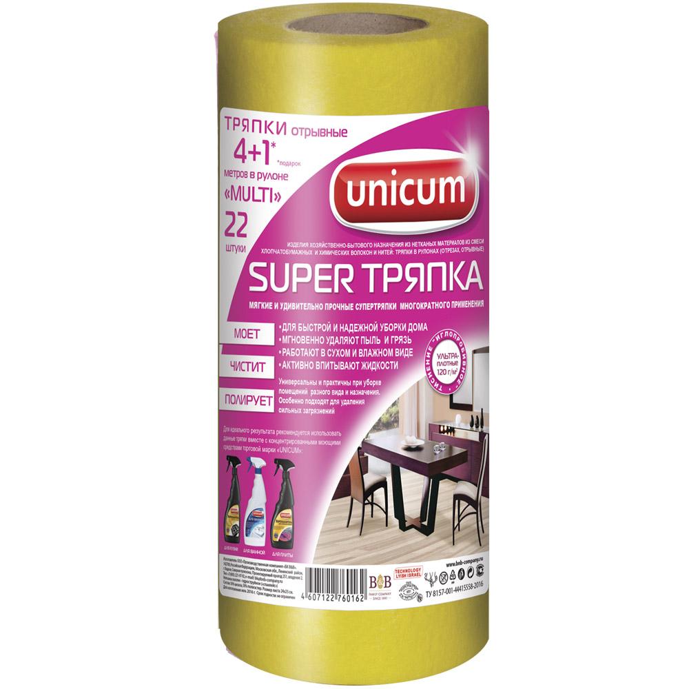 Тряпка Unicum Universal для уборки 24х23см (18 шт)<br>