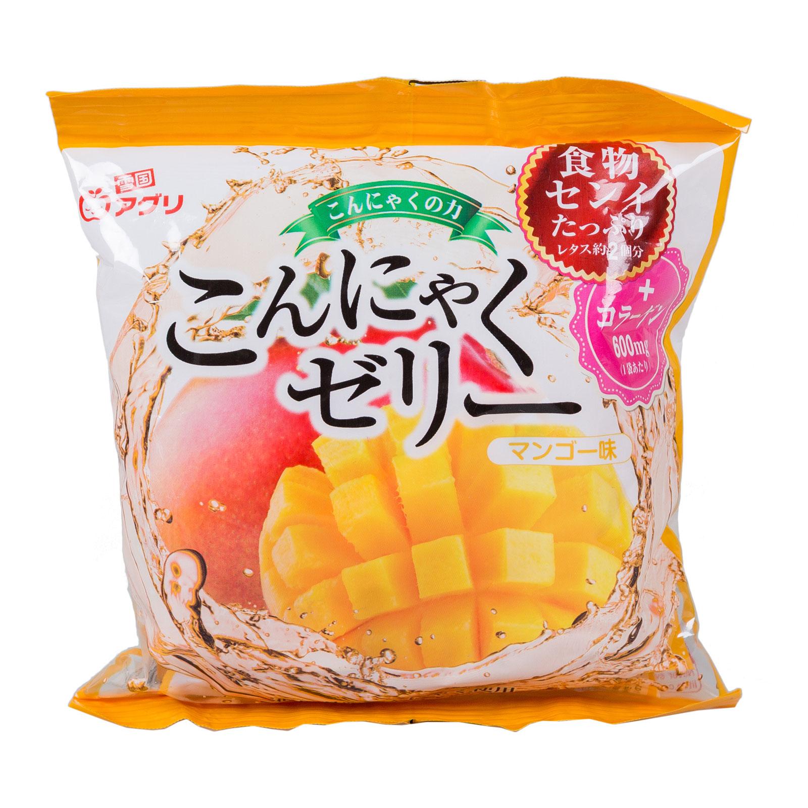 Желе Ukiguniagur конняку 115 гр С соком манго порционное (с 3 лет)<br>