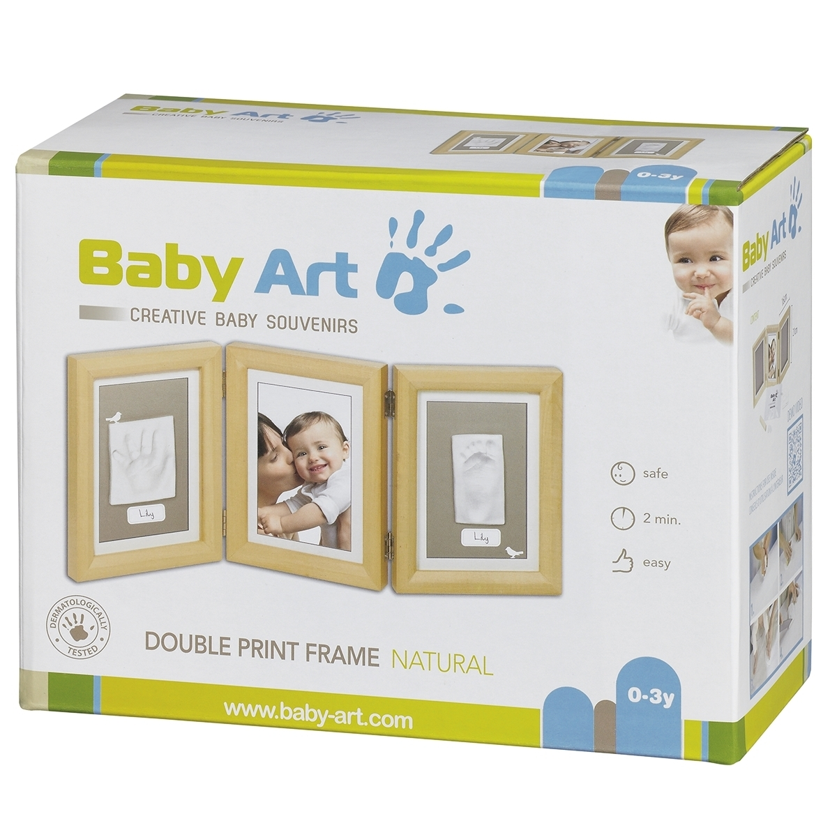 ������� Baby Art Double Print Frame (�������) �����������