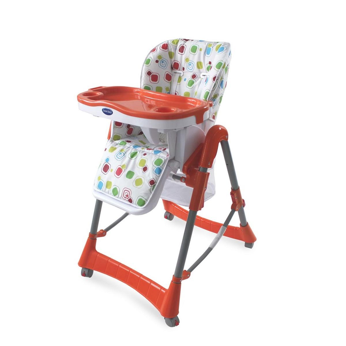 Стульчик для кормления Sweet Baby Modelli Arancione<br>