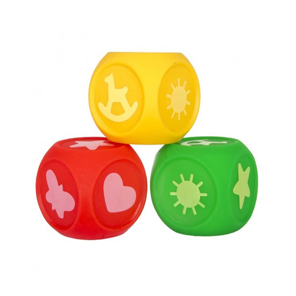 Набор кубиков ПОМА Учим цвета<br>