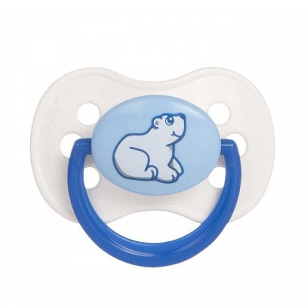 Пустышка Canpol Babies Animals Круглая латексная (с 6 мес)<br>