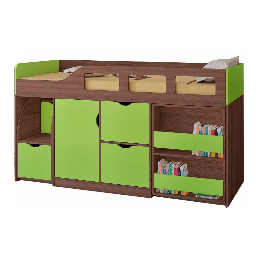 Набор мебели РВ-Мебель Астра 8 Дуб шамони/Салатовый<br>