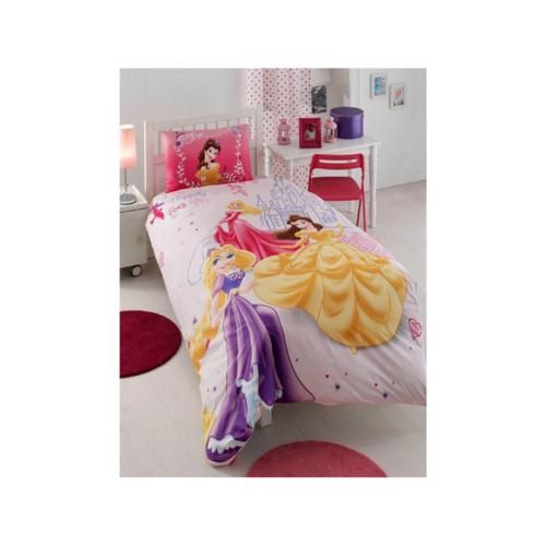 Комплект постельного белья ТАС 1.5 ранфорс Disney Princess Happily Ever After