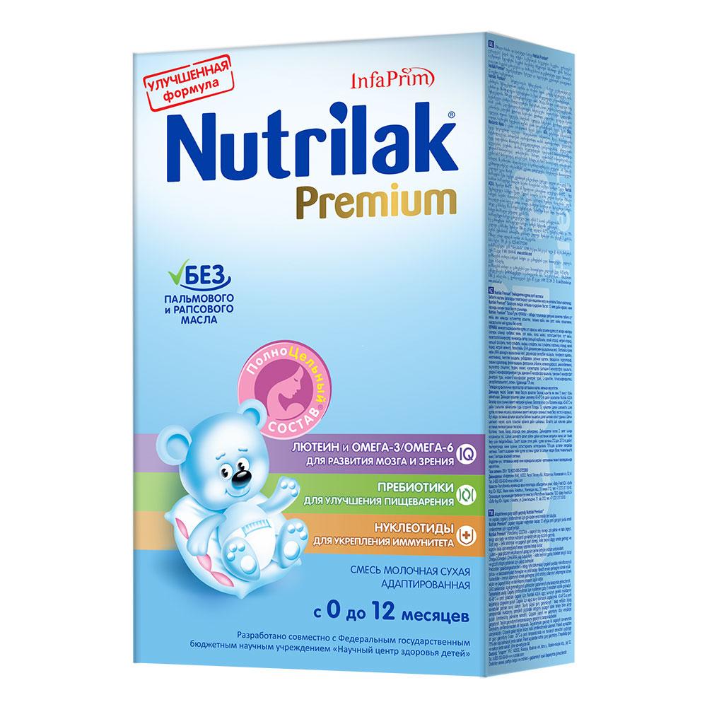 Заменитель Nutrilak Premium 350 гр c 0 до 12 мес