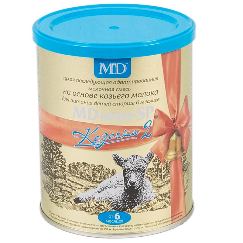 Заменитель MDмил SP Козочка 400 гр №2 (с 6 до 12 мес)<br>