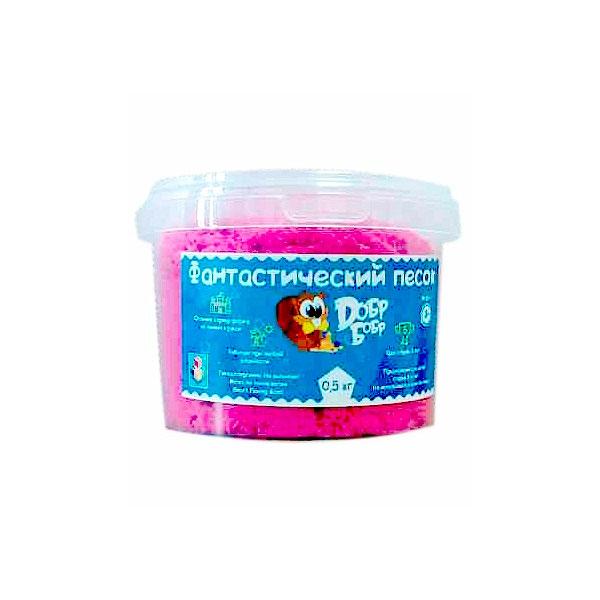 Фантастический песок 1toy Розовый 0.5 кг<br>