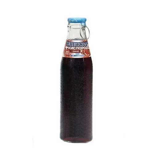 Вода Сенежская+Кислород 0,18 мл. Гранат (сок на фруктозе)