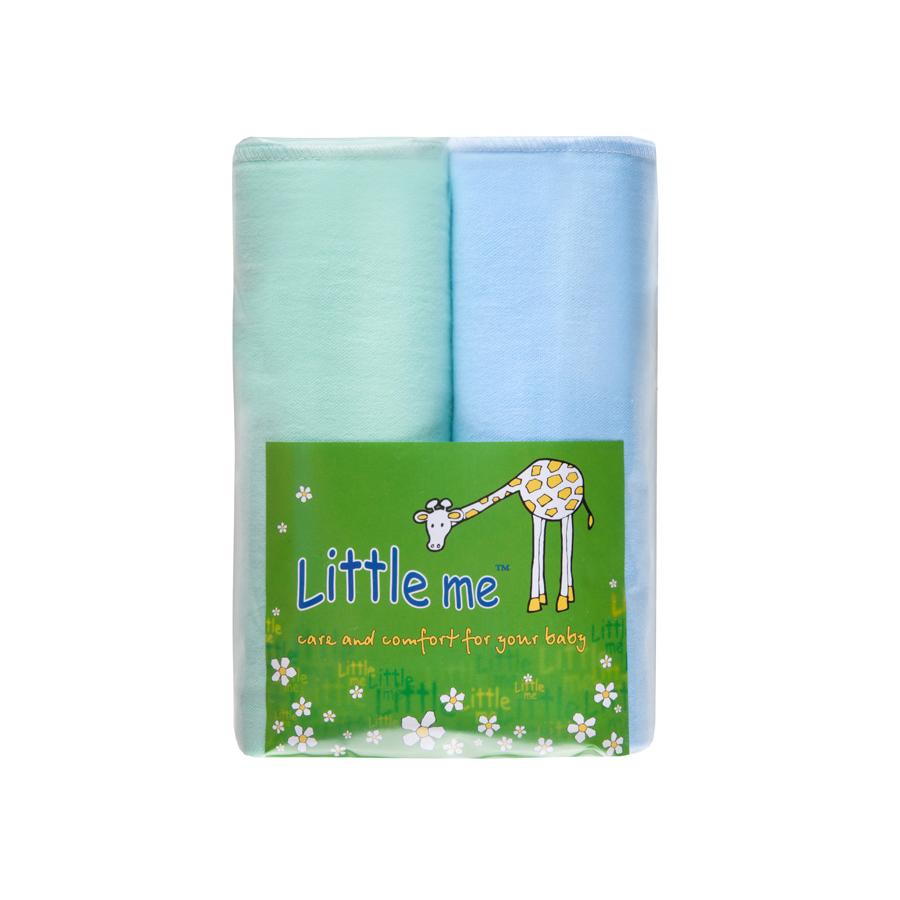 Пеленка Little Me комплект из 2 шт. Фланель, 75*120 см.