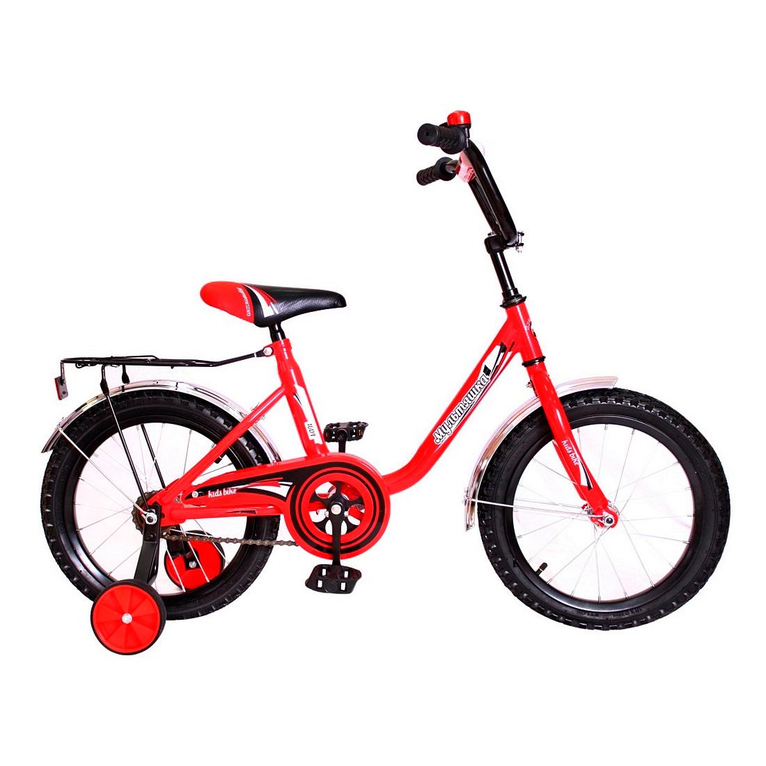 Велосипед двухколесный RT МУЛЬТЯШКА 16 XB1604 Красный<br>