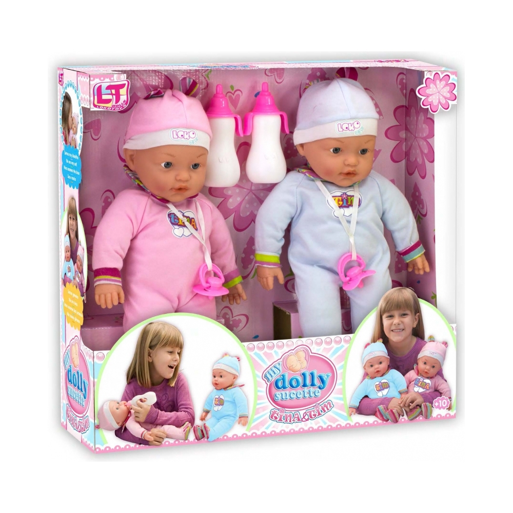 Кукла LOKO TOYS My Dolly Sucette близняшки<br>
