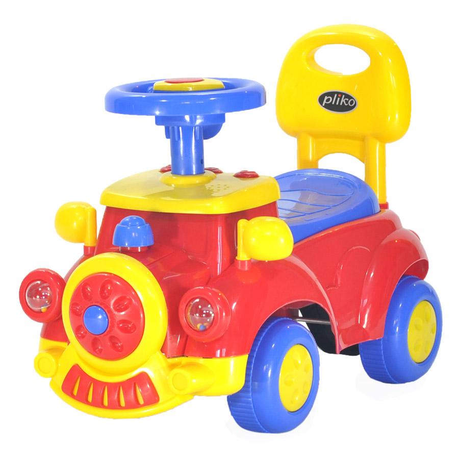 Музыкальная детская каталка Everflo Машинка 556<br>