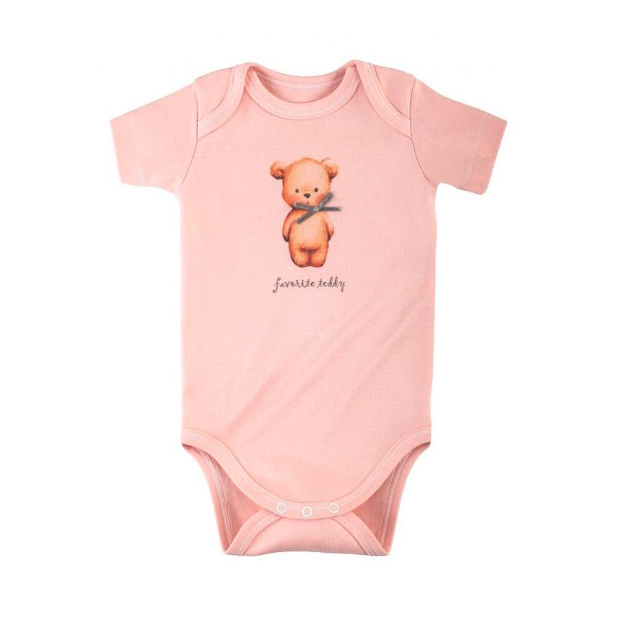 Боди Наша Мама Favorite teddy рост 62 цвет розовый<br>
