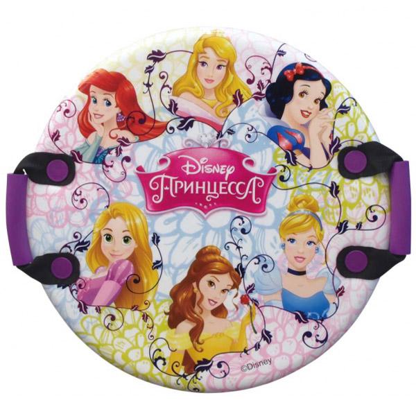 Ледянка Disney Принцессы круглая с плотными ручками 54 см