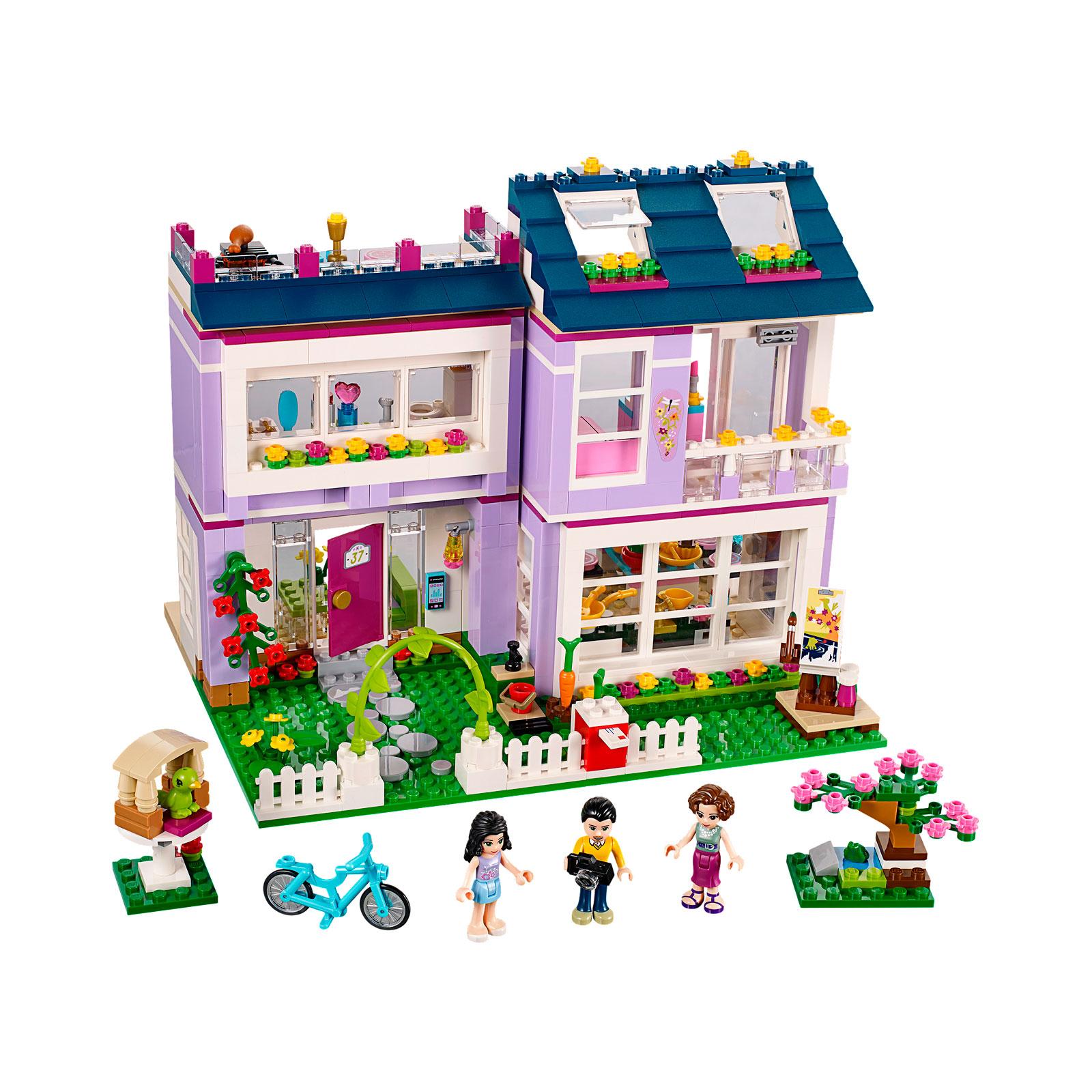 Конструктор LEGO Friends 41095 Дом Эммы<br>