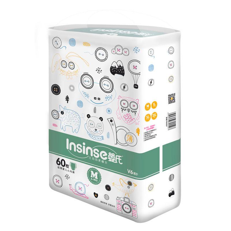 Подгузники-трусики INSINSE 6-9 кг (60 шт) Размер M<br>