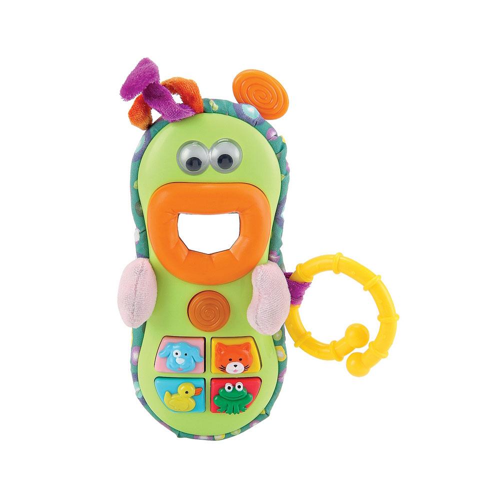 Развивающая игрушка Happy Baby Веселый телефон SMARTON с 3 мес.<br>