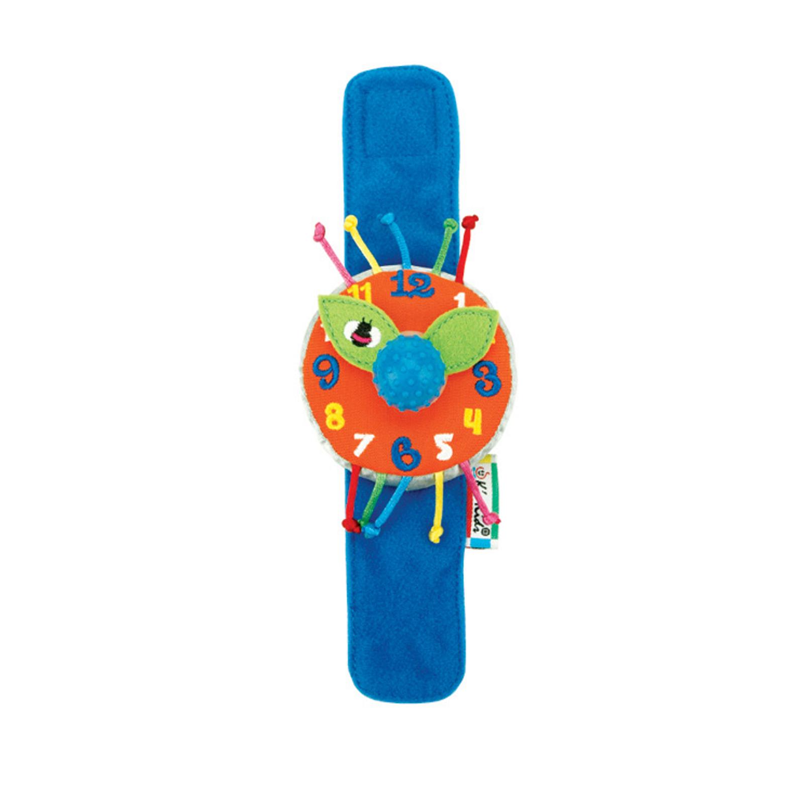 Развивающая игрушка K&amp;#039;s Kids Мои первые часы мягкие наручные с 0 мес.<br>