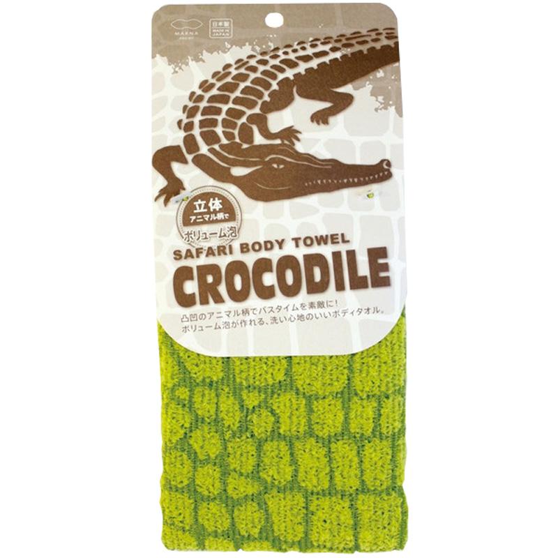 Мочалка с ребристой текстурой Marna Крокодил (1 шт)<br>