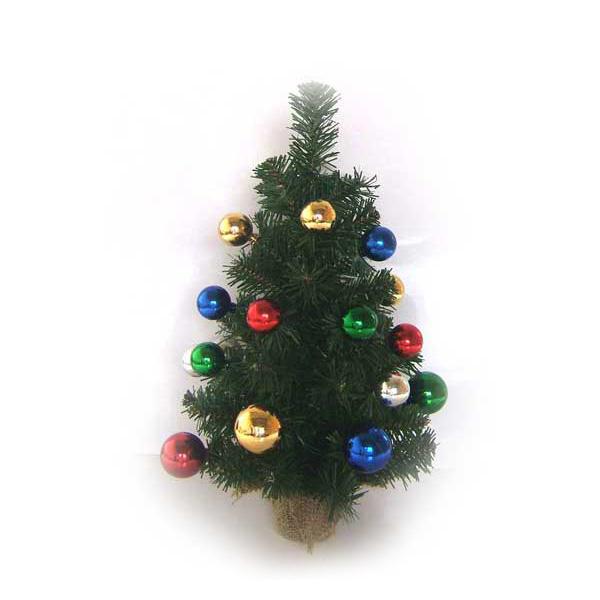 Елка Winter Wings декоративная украшенная разноцветными шарами 41 см В корзине<br>
