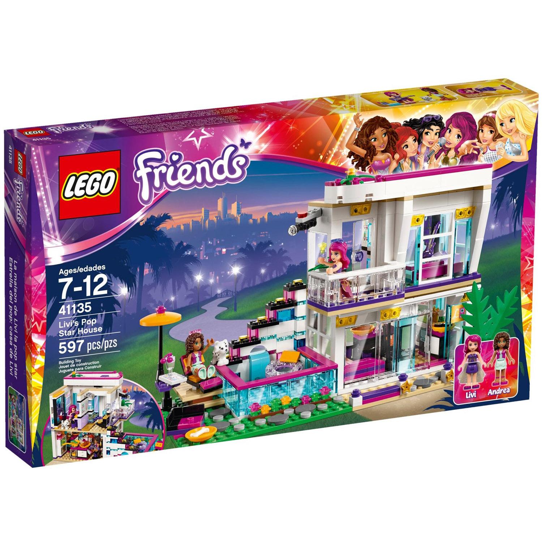 Конструктор LEGO Friends 41135 Поп-звезда Дом Ливи<br>