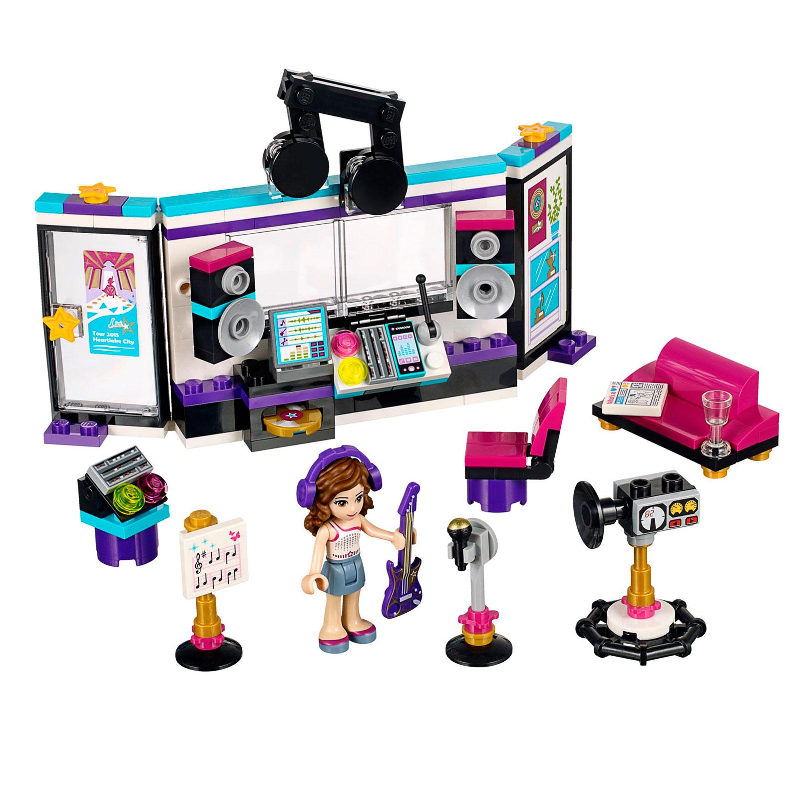 Конструктор LEGO Friends 41103 Поп звезда: студия звукозаписи<br>