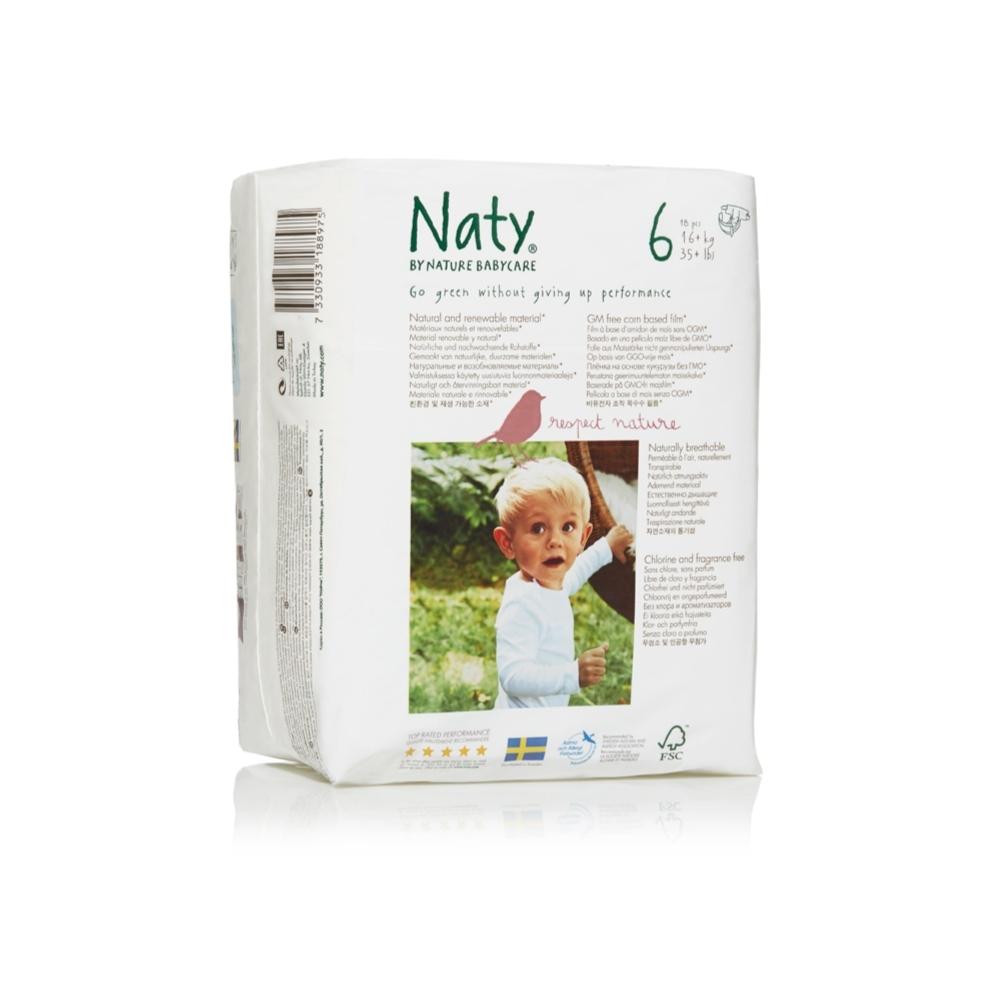 Подгузники Naty 16+ кг (18 шт) Размер 6<br>