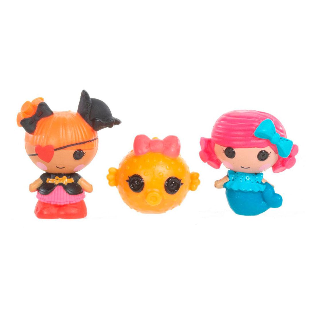 Кукла Mini Lalaloopsy Русалочка, Пират, Рыбка
