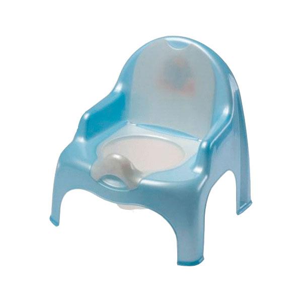 Горшок-стульчик DUNYA Plastic Цвет - голубой<br>