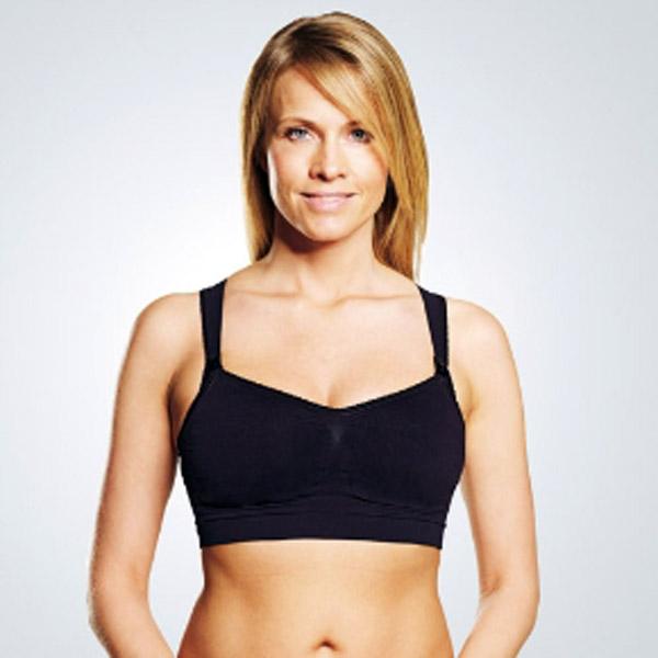 Бюстгальтер Medela Eva для беременных и кормящих черный (XL)<br>
