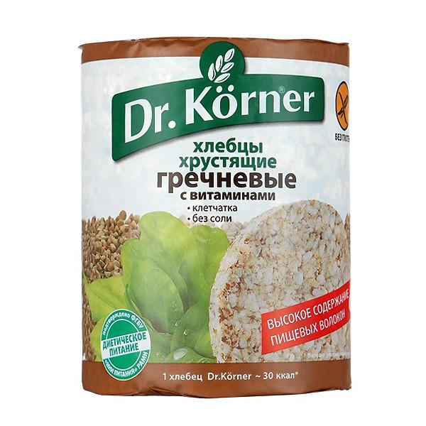 Хлебцы Dr.Korner 100 гр Гречневые с витаминами<br>