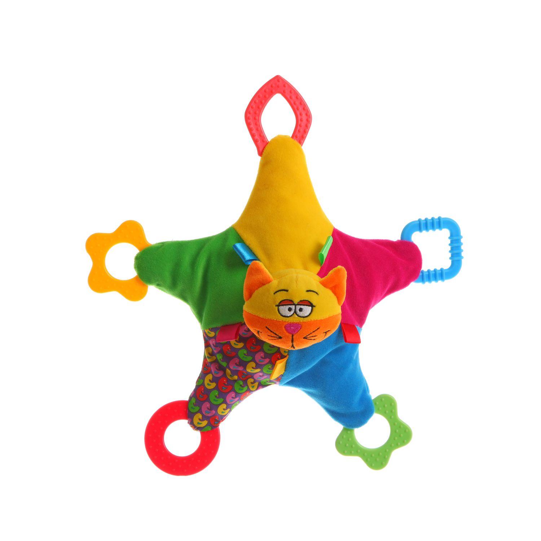 Мягкая развивающая игрушка Bondibon Кот Собака 2 вида 32 см<br>