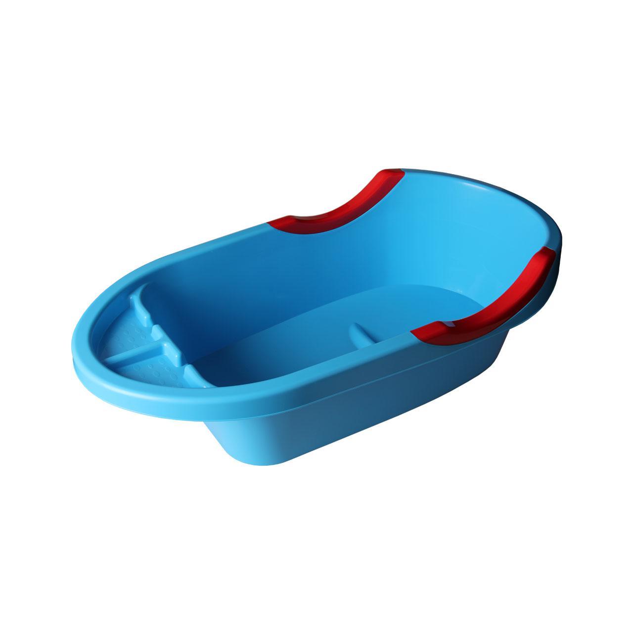 Ванна детская Пластик Малышок Цвет - синий 4409М